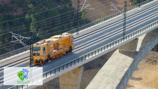herramienta de cálculo de impactos ambientales del sector ferroviario - Life Huellas
