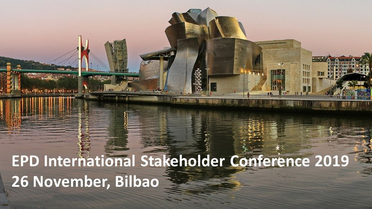Ik ingeniería colabora en: The EPD International Stakeholder Conference 2019