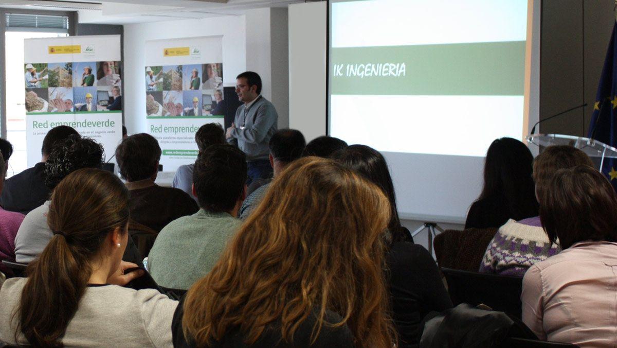 """IK Ingeniería ha participado en el 9º Encuentro emprendeverde """"Ecodiseño y emprendimiento verde"""""""