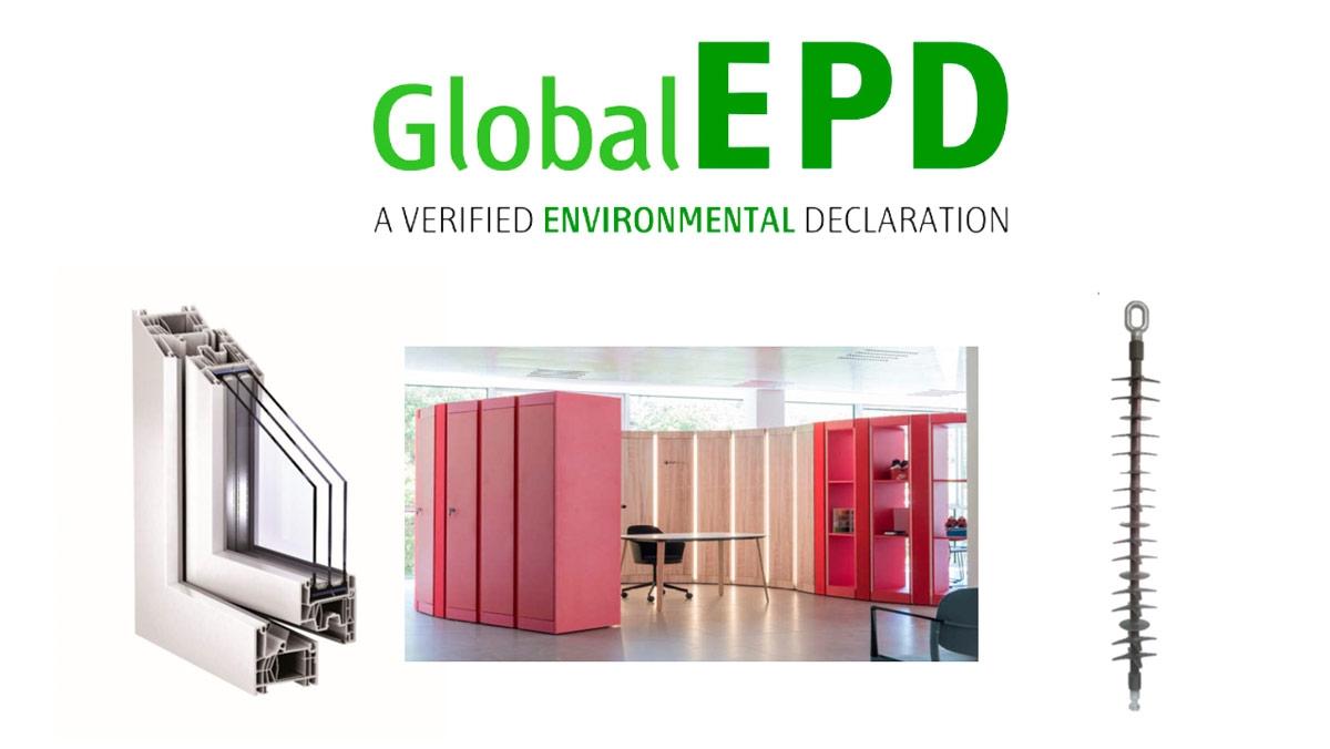 Tres nuevas EPDs verificadas en el programa GLOBAL EPD de Aenor