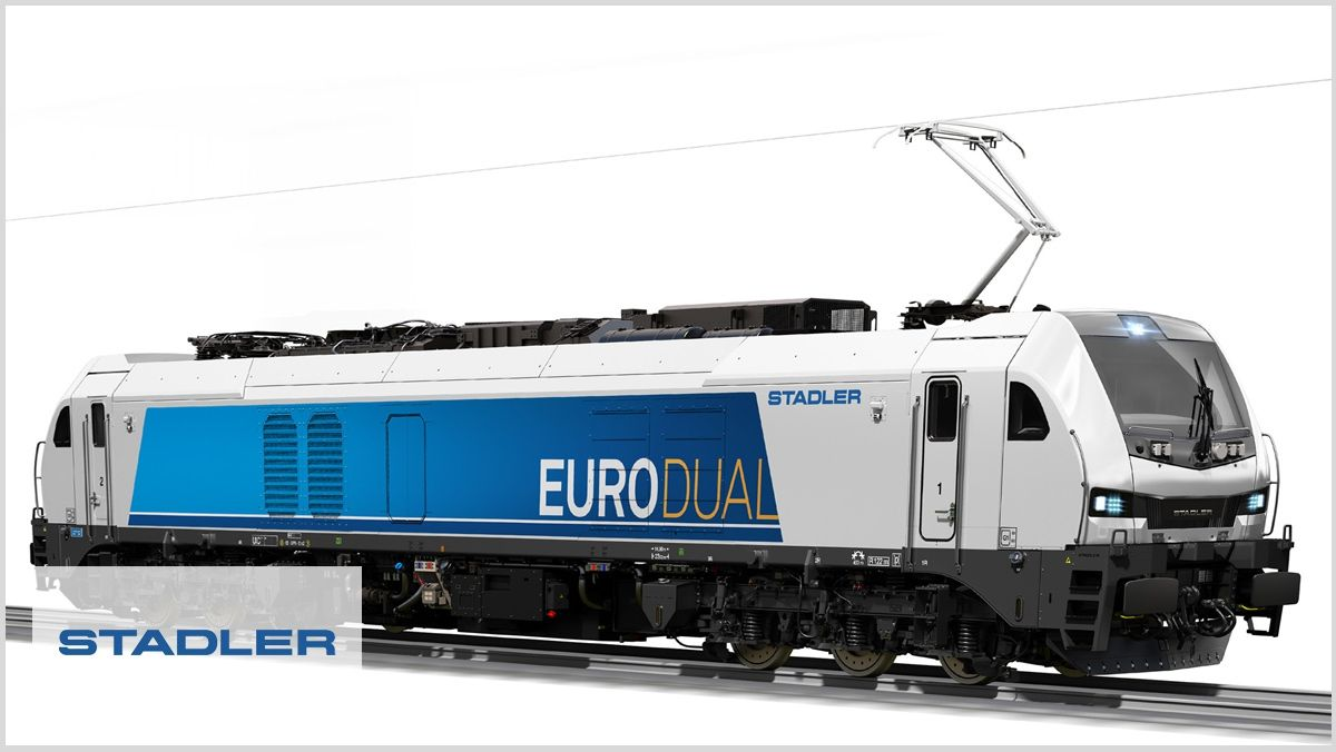 Life Cycle Analysis of the Eurodual locomotive for Stadler Valencia