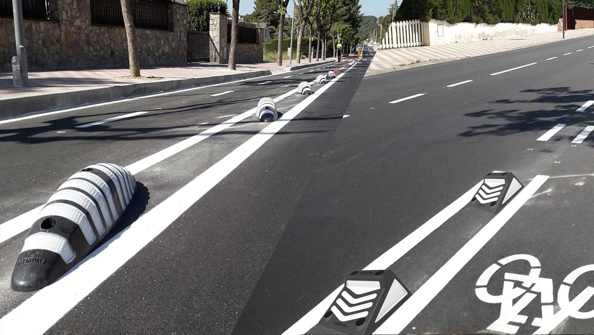 Ik ingeniería verifica la EPD de separadores carril bici LOOP y MID01